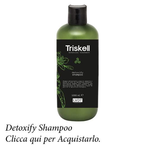 Detoxifying shampoo 1000 ml